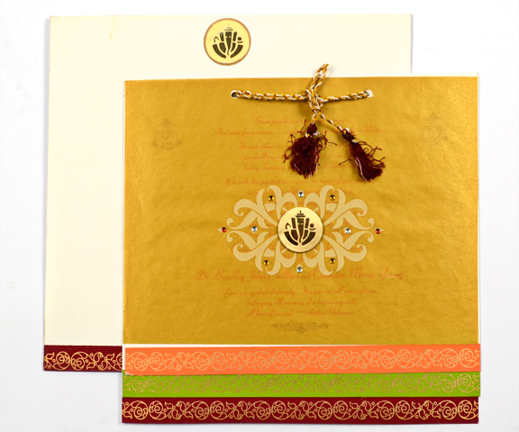 Indian Wedding Card'S Blog » Wedding Cards