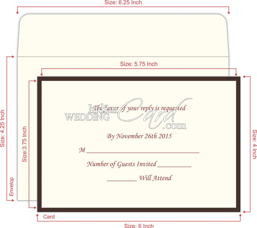 RSVP Wording Invitations