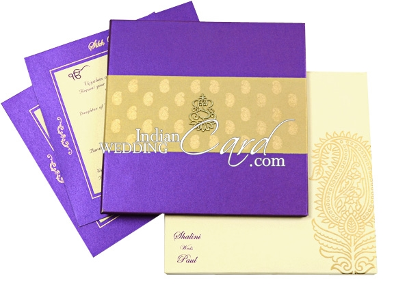 Exclusive Wedding Card