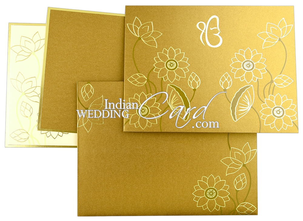 Floral Invitations Cards