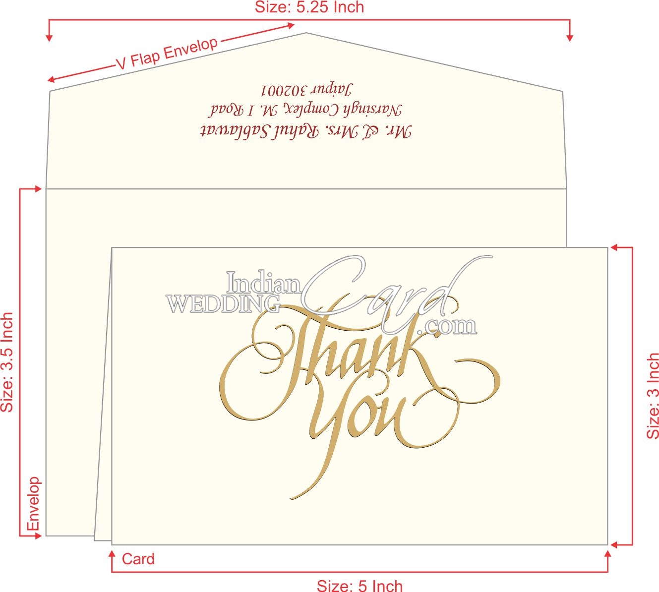 Thank You Invitations Cards
