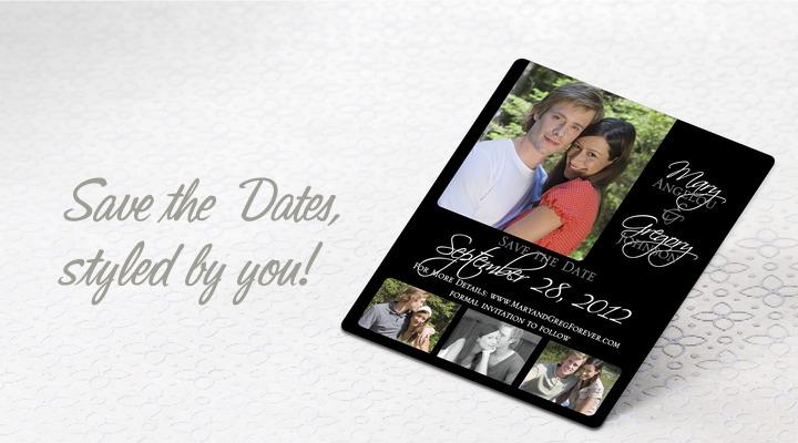 unforgettable wedding cards