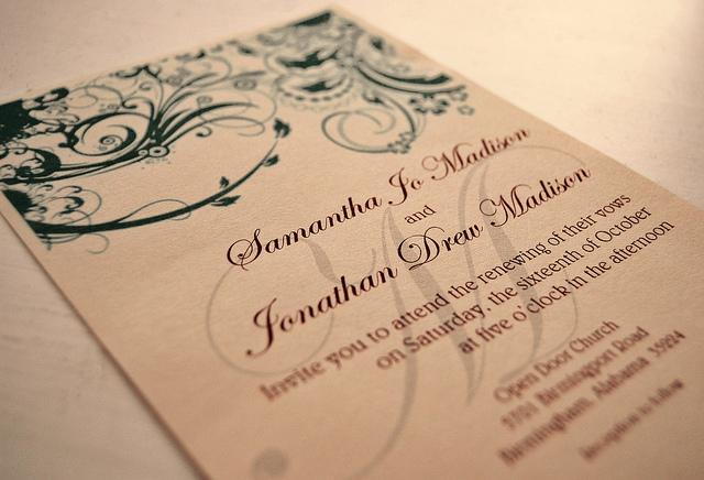 Latest Wedding Invitation Wording