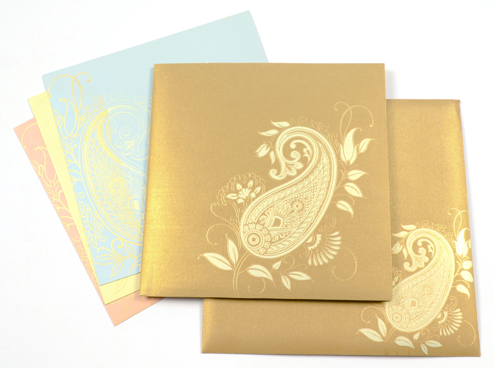 D 6075 Indian Wedding Card S Blog