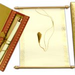 These features of a scroll wedding card make it the most preferred option for wedding invitations!