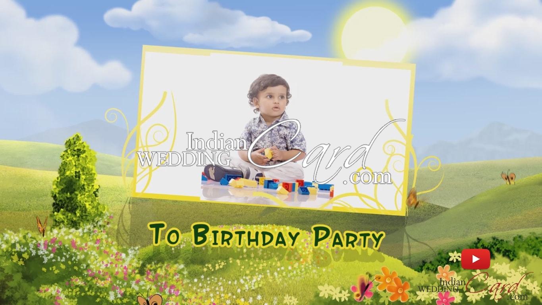 e-birthday invitation cards