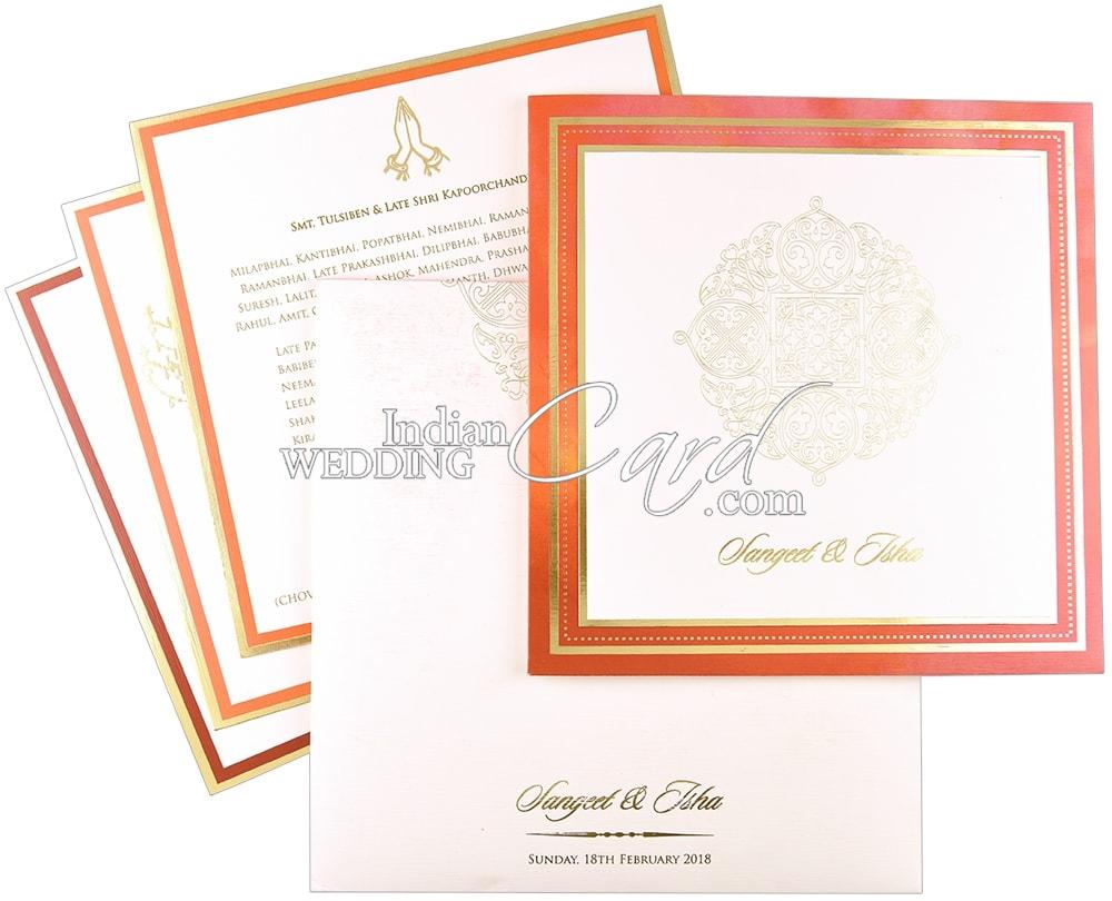 Exclusive Indian Wedding Cards Online