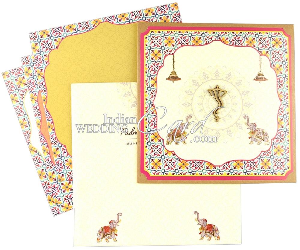 Hindu Marriage Card