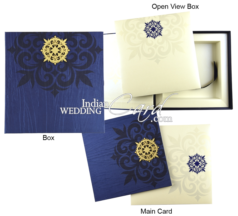Box invitations Card