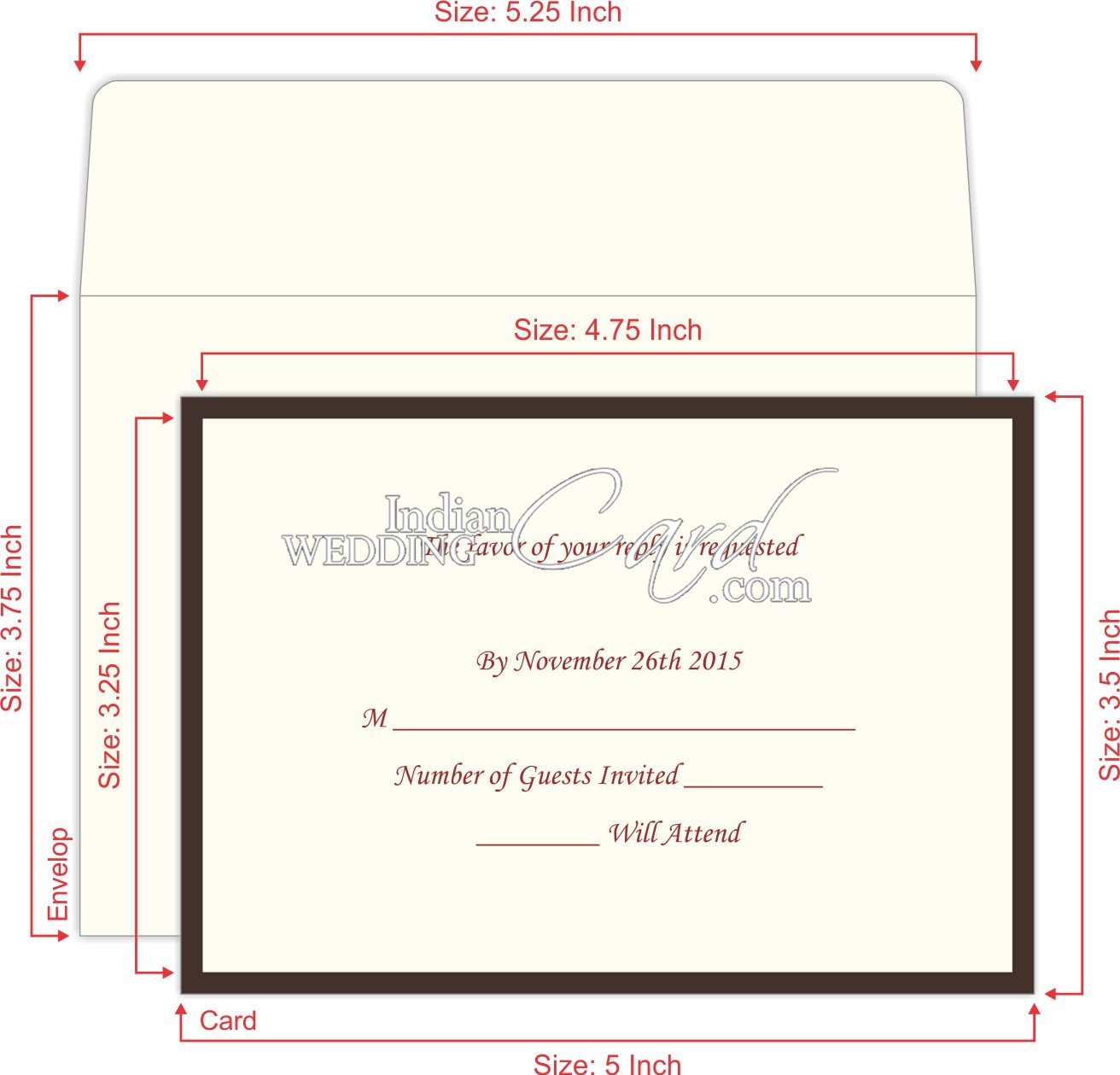 RSVP Invitations Cards