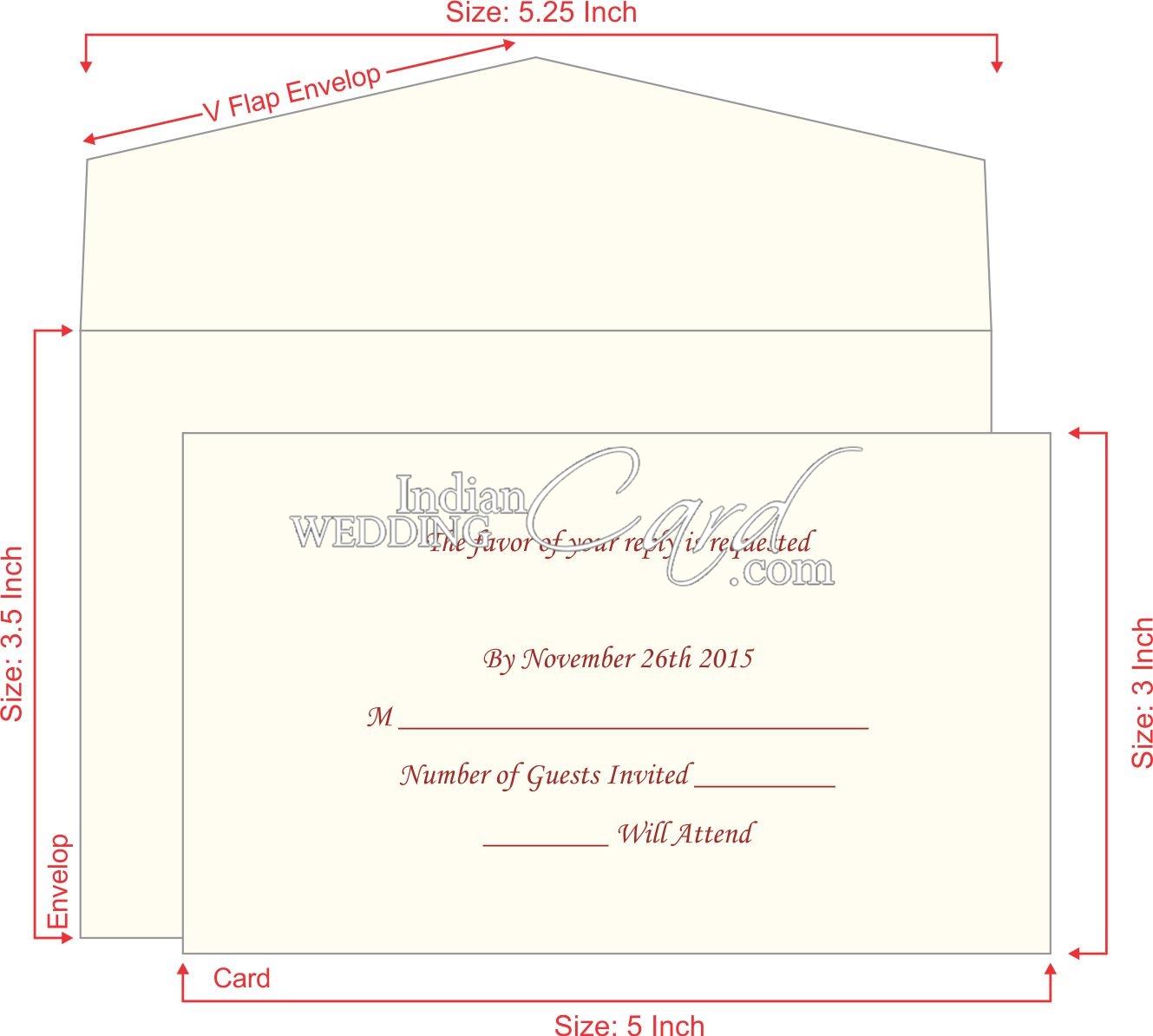 Стандартные размеры пригласительных открыток