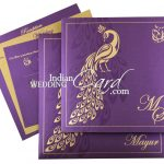Add Happiness To Your Marital Life With These Peacock Theme Wedding Cards