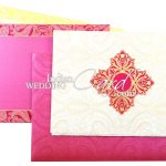 Add Royal Touch To Your Wedding With These Damask Wedding Cards