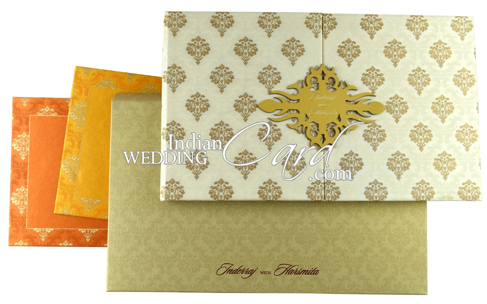 Damask wedding Cards