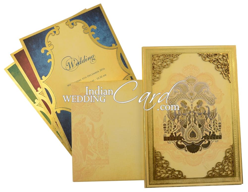 High End Wedding Card