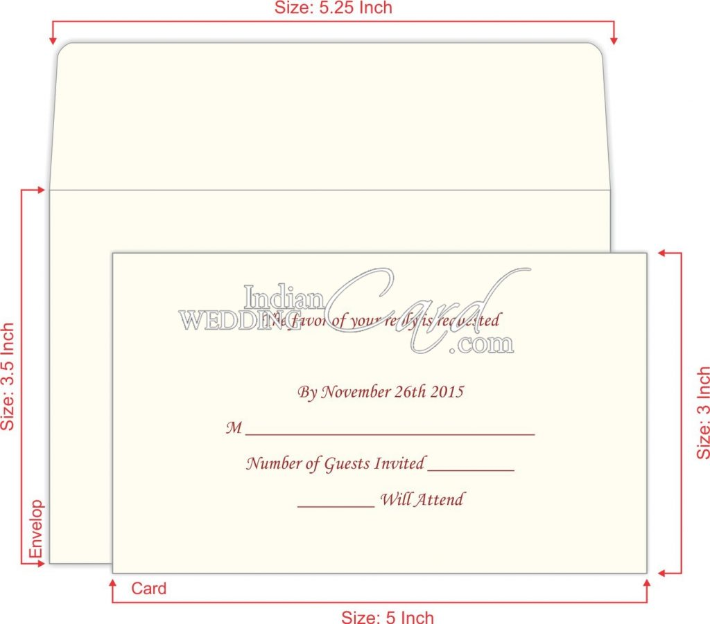 RSVP Marriage Cards