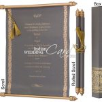 Win Admiration Of Your Guests With Scroll Invitation Boxes