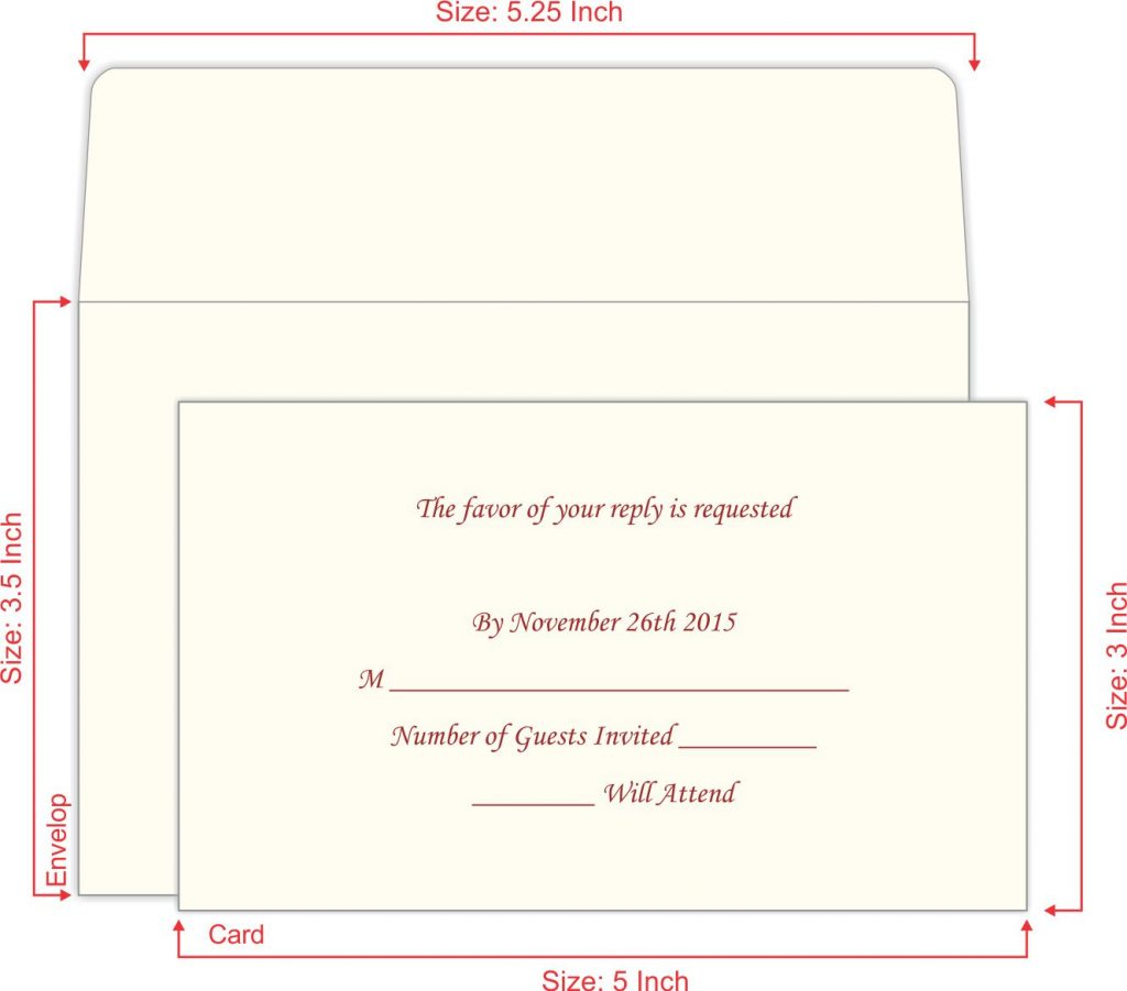 RSVP Wedding Cards