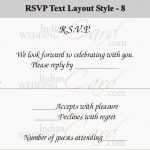 How To Respond To a Wedding RSVP Card