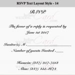 A quick guide to wedding RSVP wording etiquette