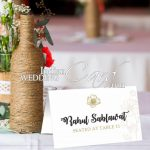 All about wedding place cards and their importance
