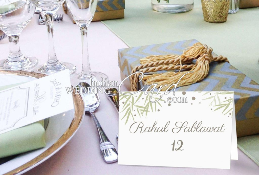 Table Invitations Cards