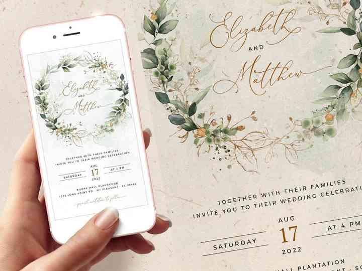 Digital Wedding Cards