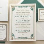 Explore These Stylish Letterpress Wedding Invitations