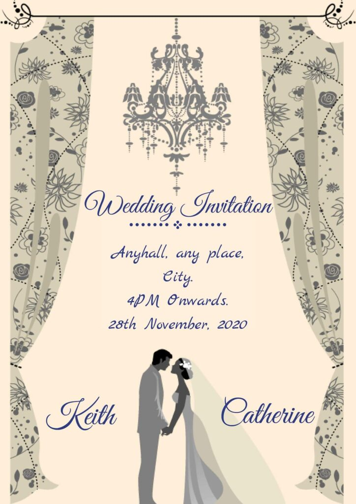 Christain Wedding Cards